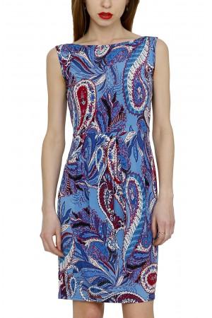 Платье летнее с рисунком пэйсли