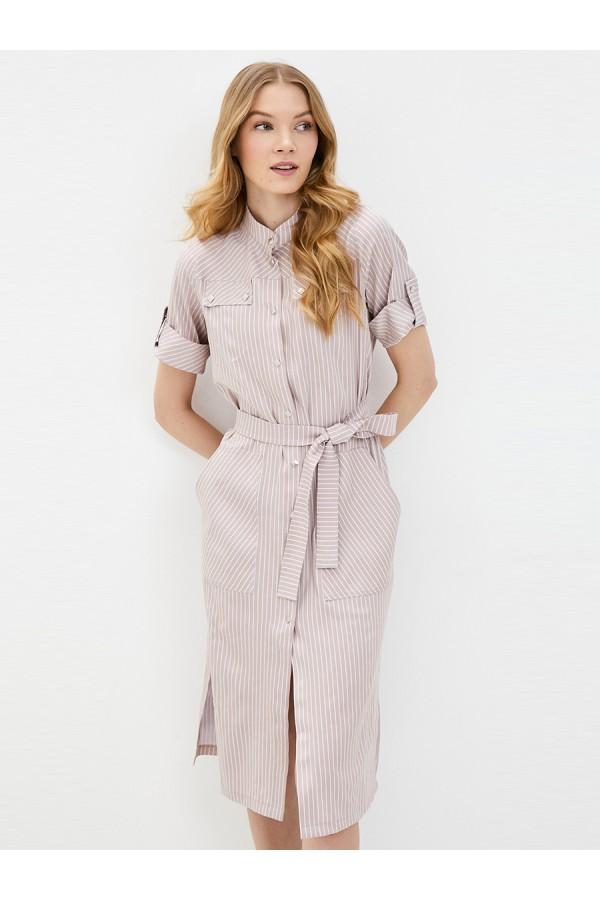 9671 Платье-рубашка