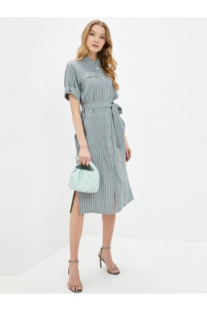 9608 Платье-рубашка