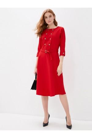9680 Платье двубортное