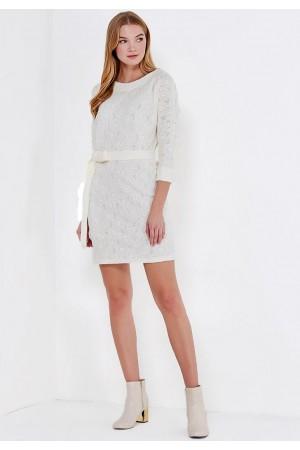 9830 Платье из шерстяного трикотажа