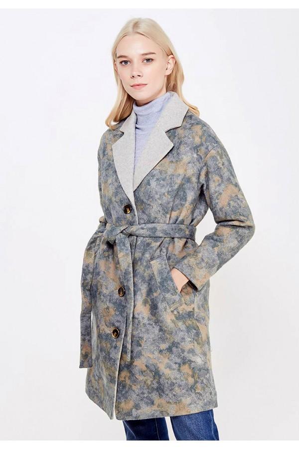 9834 Пальто с английским воротником