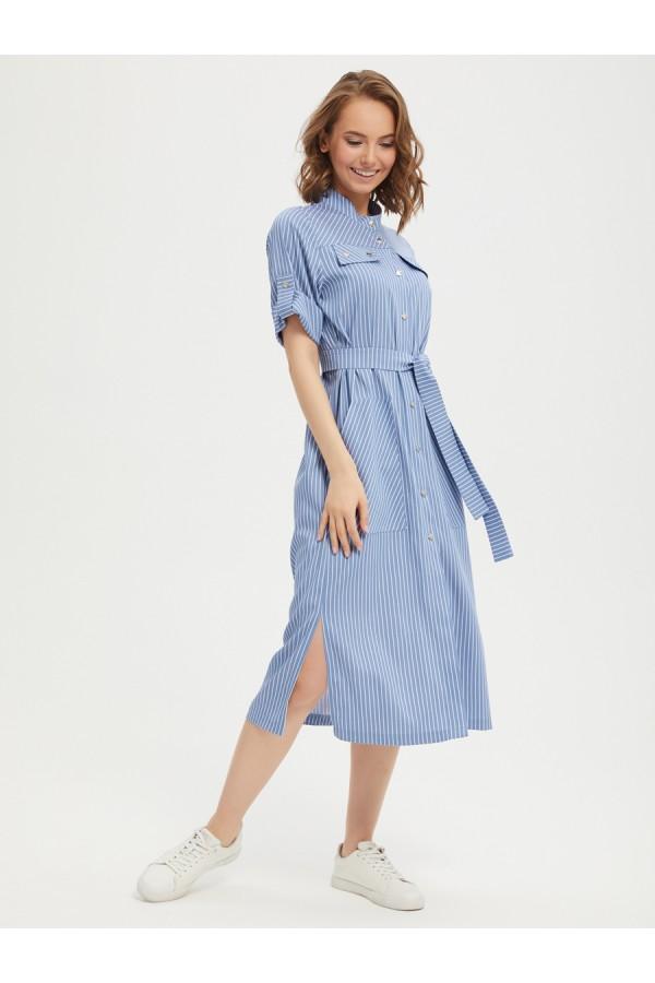 9661 Платье-рубашка
