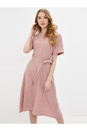 9678 Платье летнее в полоску
