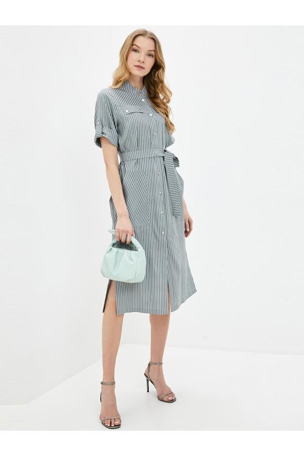 9669 Платье-рубашка