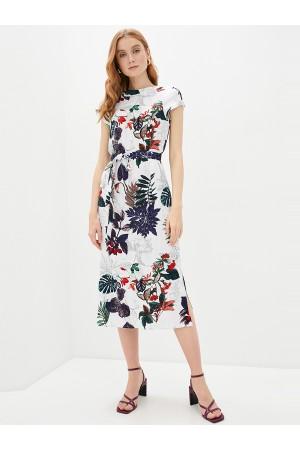 9672 Платье в цветок