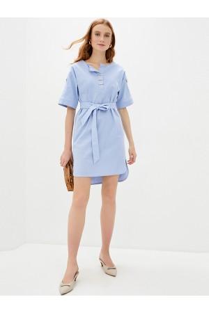 9685 Платье-туника изо льна