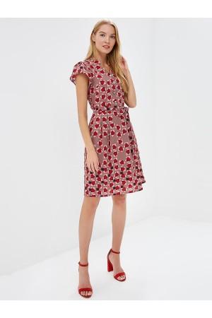 9677 Платье в стиле 60-х