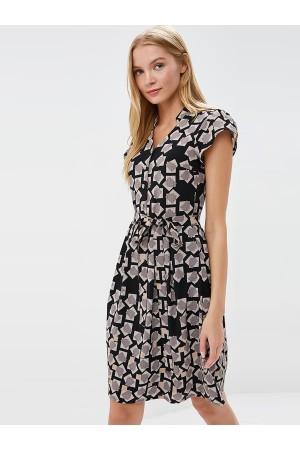 9676 Платье в стиле 60-х