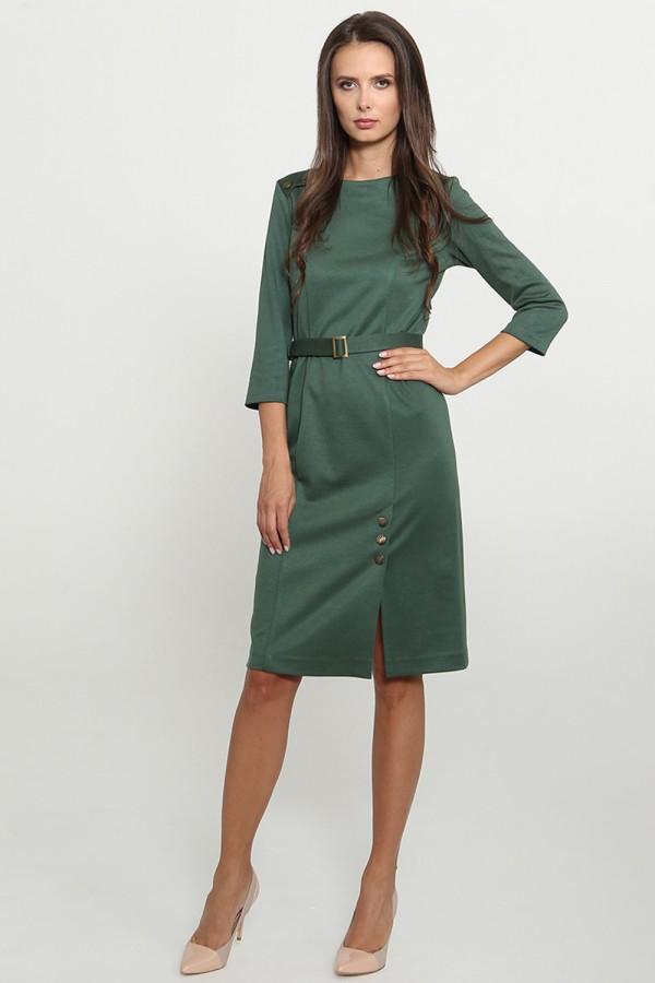 9777 Платье офисное