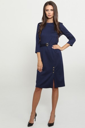 9781 Платье офисное