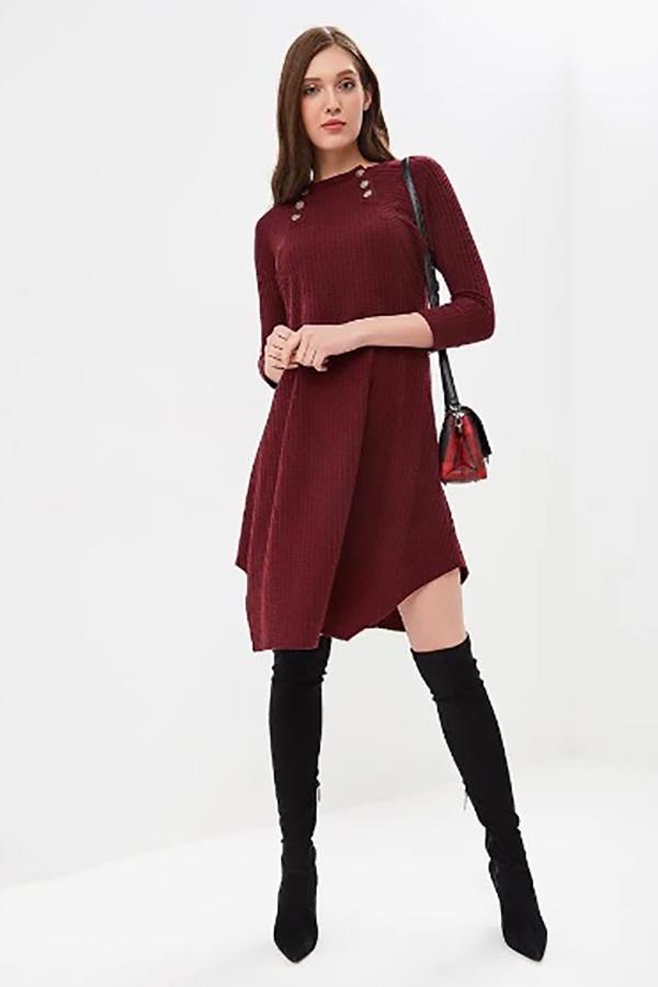 9751 Платье зимнее