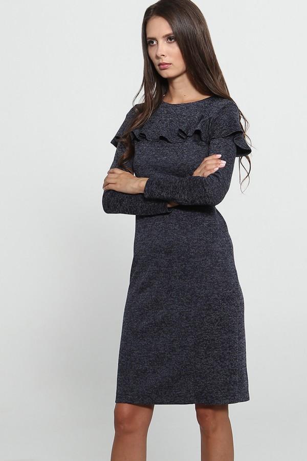 9775 Платье с воланом