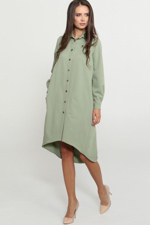 9776 Платье-рубашка