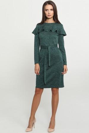 9772 Платье с воланом
