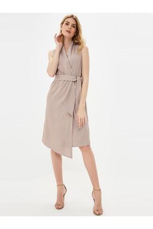 9721 Платье летнее в горох
