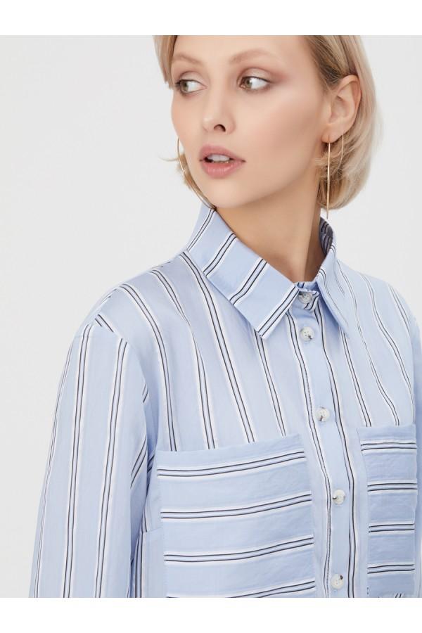 9652 Рубашка в полоску