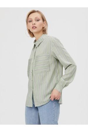 9648 Рубашка в полоску