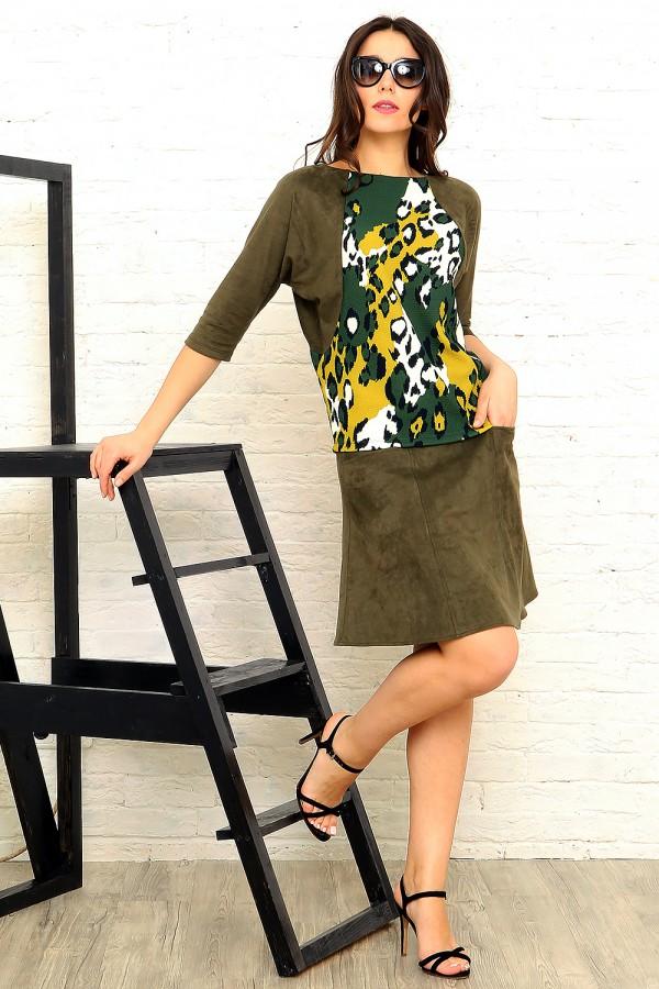 Soft luxury green look #025 Цена образа: