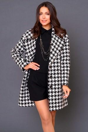9962 Объемное пальто oversize