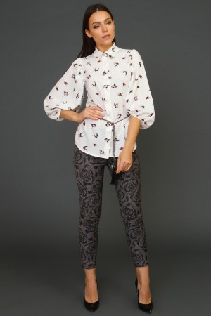 9938 Узкие брюки-скинни