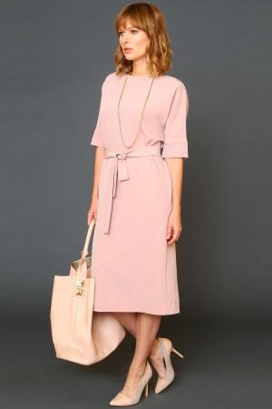 99581 Длинное платье со шлицей
