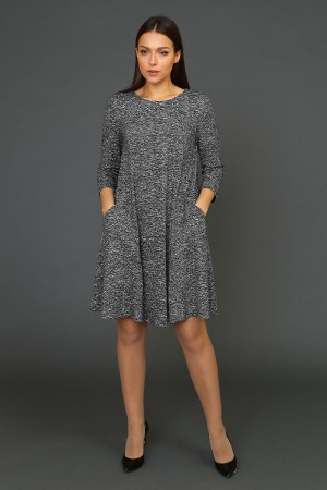 9930 Платье демисезонное свободное
