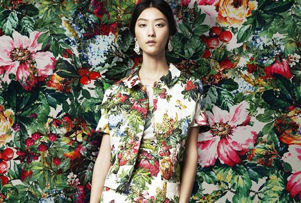 Платья. Модный тренд: цветочные принты